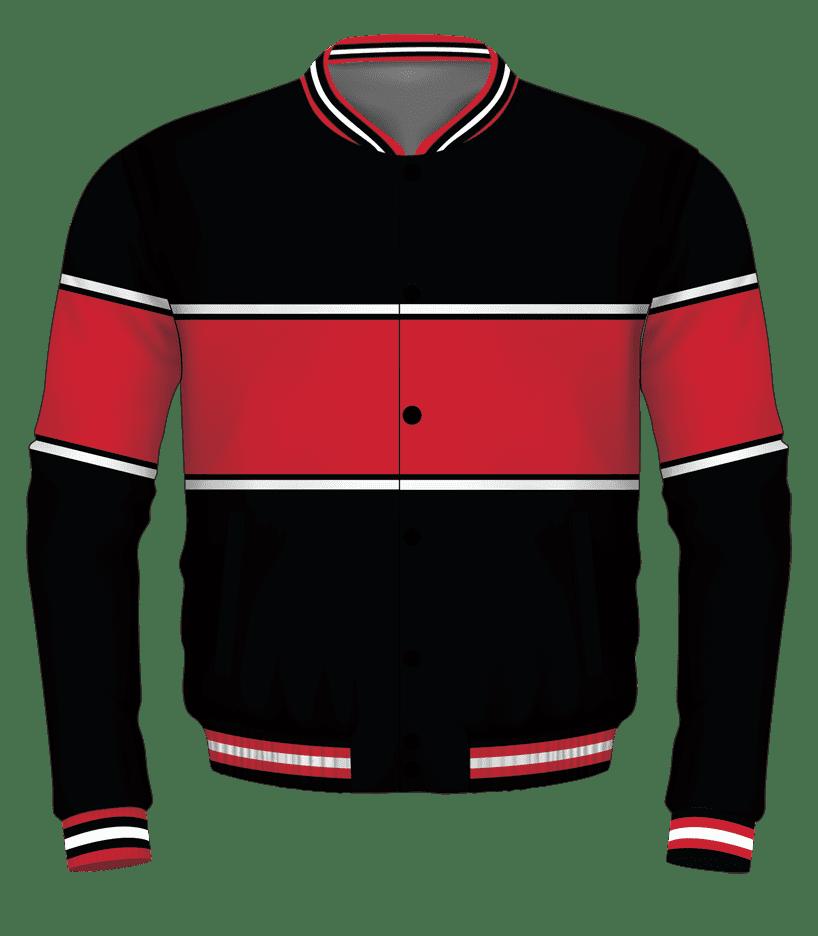 Black-Red-White