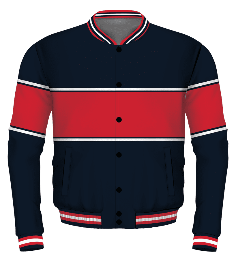 Navy-Red-White